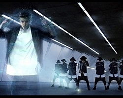 "Justin Bieber and will.i.am in ""#thatPOWER"""