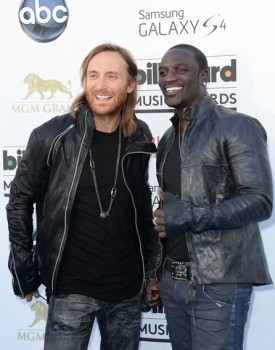 David Guetta and Akon BBMA