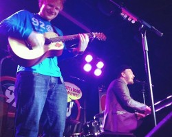 Ed Sheeran and Gavin DeGraw - WPLJ