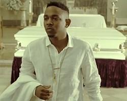 """Kendrick Lamar in """"Bitch, Don't Kill My Vibe"""""""