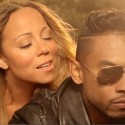 "Mariah Carey and Miguel in ""Beautiful"""