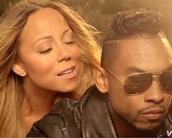 "Mariah Carey and Miguel in ""Beautiful"""