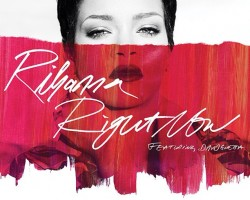 rihanna right now single cover