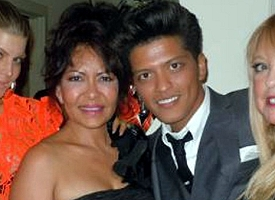 Bernadette Hernandez and Bruno Mars