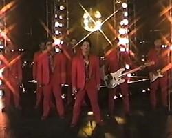 "Bruno Mars in ""Treasure"" video"