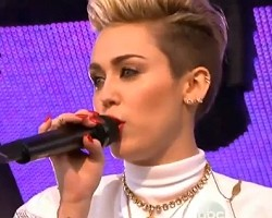 miley cyrus we cant stop kimmel