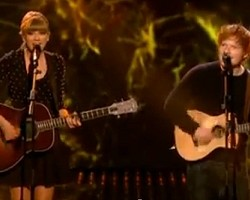 taylor swift ed sheeran britains got talent