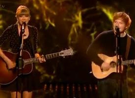 taylor swift ed sheeran britains got talent