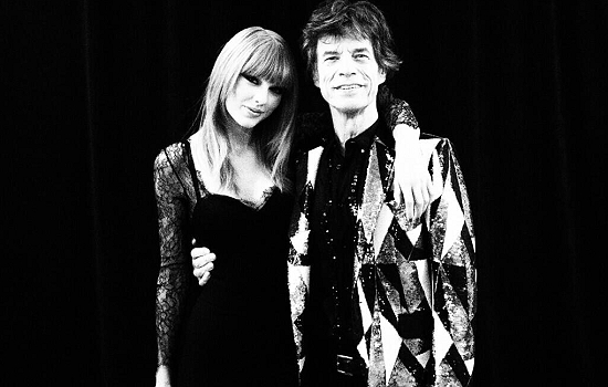 taylor swift mick jagger