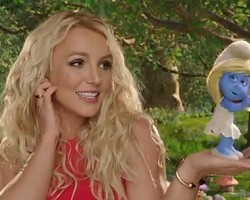 "Britney Spears in ""Ooh La La"" video"