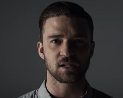 "Justin Timberlake in ""Tunnel Vision"""