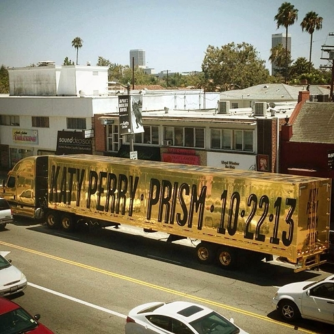 katy perry prism announcement