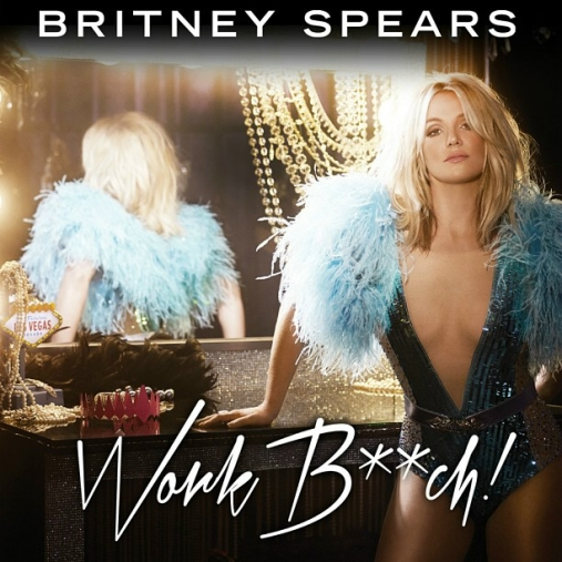 britney spears work bitch new single cover