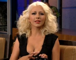 christina aguilera jay leno interview september 2013