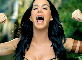 "Katy Perry in ""Roar"" video"