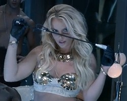 "Britney Spears in ""Work Bitch"""