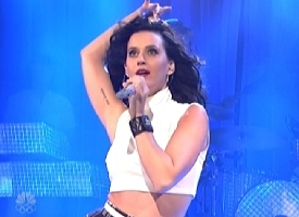 katy perry snl 2013 walking on air video