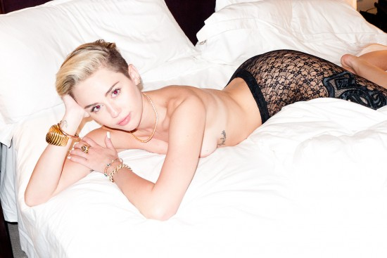 miley cyrus terry richardson nyc shoot
