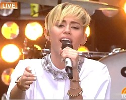 miley cyrus today show video 2013